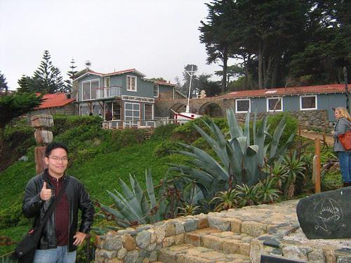 In front of Isla Negra