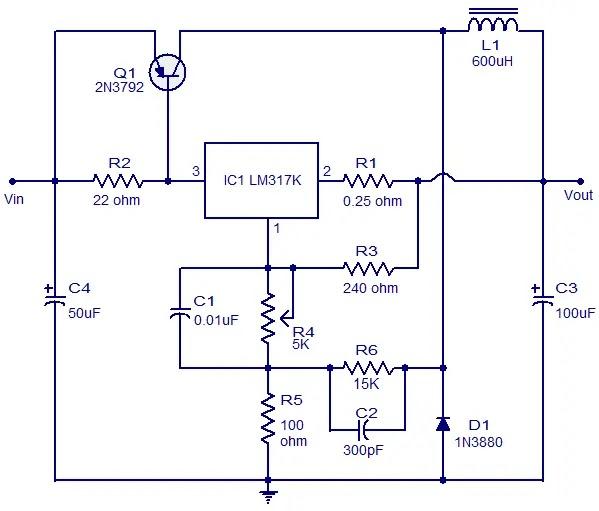 Electr 243 Nica Fuente De Poder En Base A Reguladores De