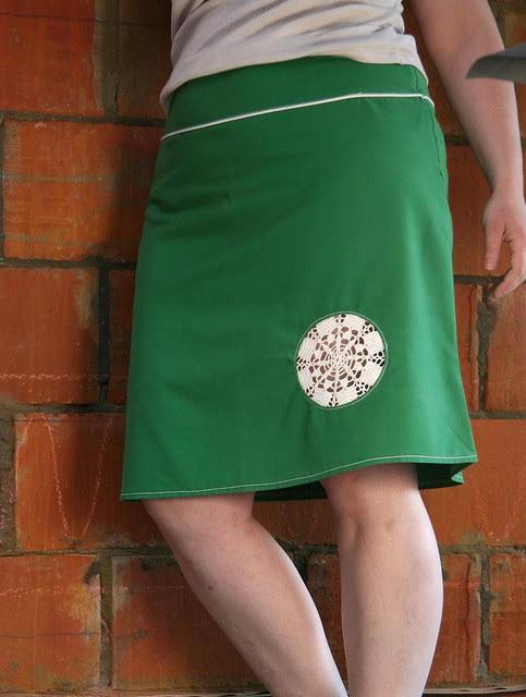 Doily-skirt