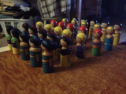 The Army of Peg Princesses