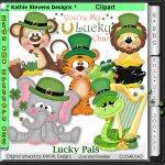 Lucky Pals Clipart - CU