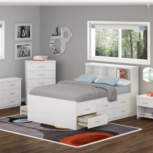 Ikea Black Bedroom Set Up, White Bedroom Furniture Ikea