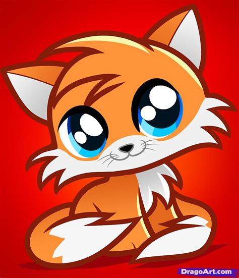 draw tails kitty tails cat step  step anime