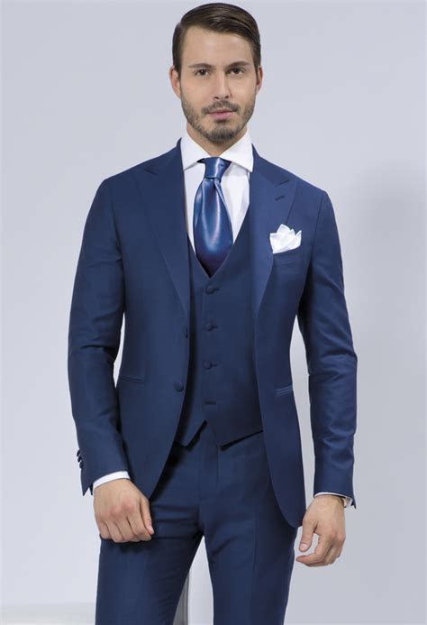 Cobalt Blue Wedding Suits 3 piece to Buy ? Cobalt   Sean