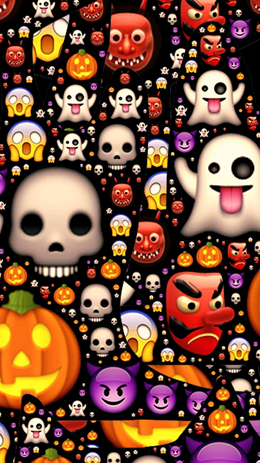 Free HD Emoji Mess Phone Wallpaper...4458