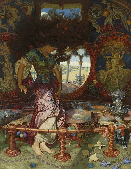 File:Holman-Hunt, William, and Hughes, Edward Robert - The Lady of Shalott - 1905.jpg