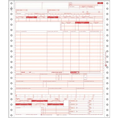 UB-04 Hospital Claim Form for Dot-Matrix Printers | Staples®