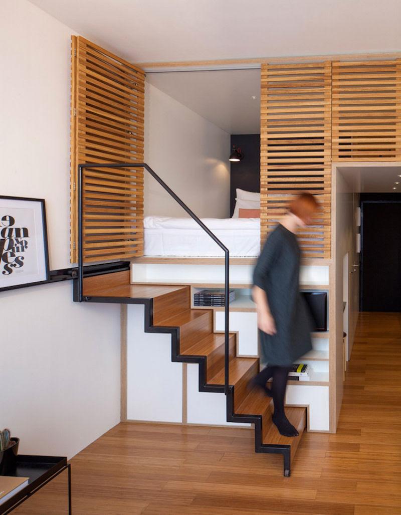 Escadas incrivelmente projetadas que estão um degrau acima das demais 15