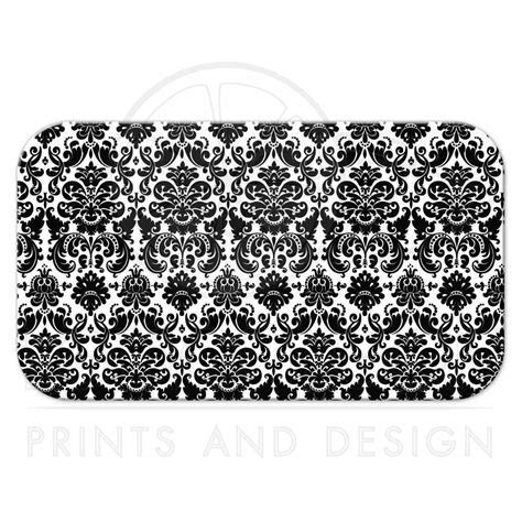 Wedding Place Card or Escort Card   Flat   Black and White