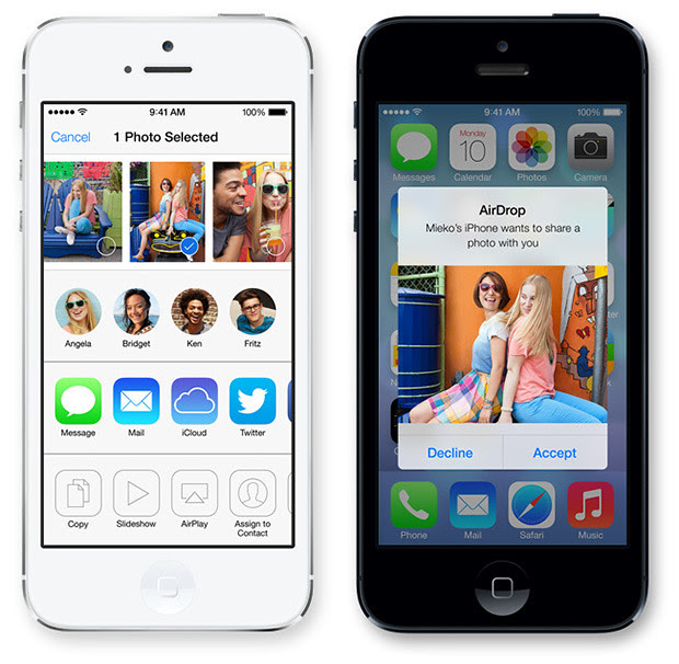iOS7 Airdrop