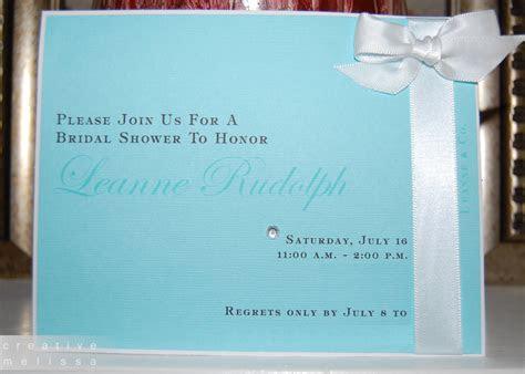 tiffany invitation templates