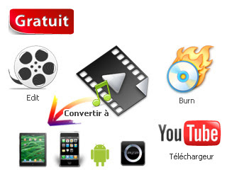 convertisseur MPEG, AVI, FLV, YouTube, MP4