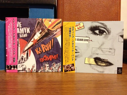 The Steve Adamyk Band - S/T CD & Forever Won't Wait CD - Japanese Versions by Tim PopKid