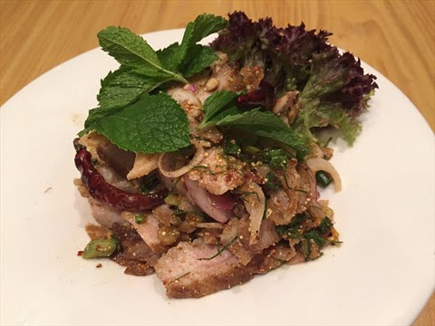 燒豬頸肉沙律 - 尖沙咀的泰燒遙