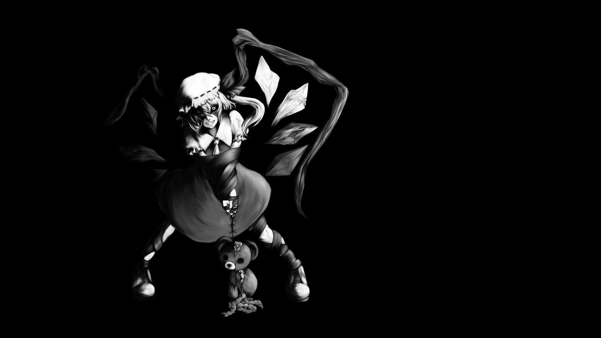 Black Anime Wallpapers - Wallpaper Cave