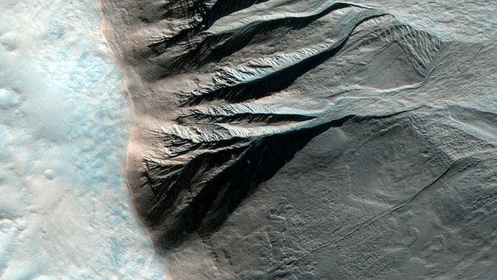 Surpreendentes imagens do planeta vermelho