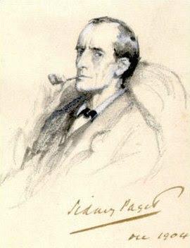 Sherlock Holmes dibujado por Sidney Paget