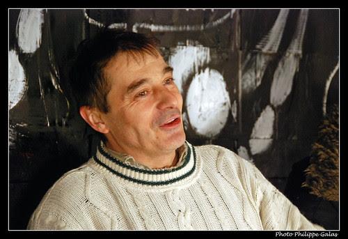 Portrait de l'artiste - Jerome Mesnager fait le M.U.R.