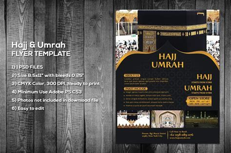 Hajj & Umrah Flyer Template ~ Flyer Templates ~ Creative
