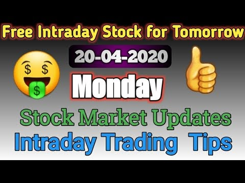 Intraday call For 20 April 2020| Intraday Stock For Tomorrow in Marathi ...