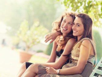 iStock lesbian couple attractive