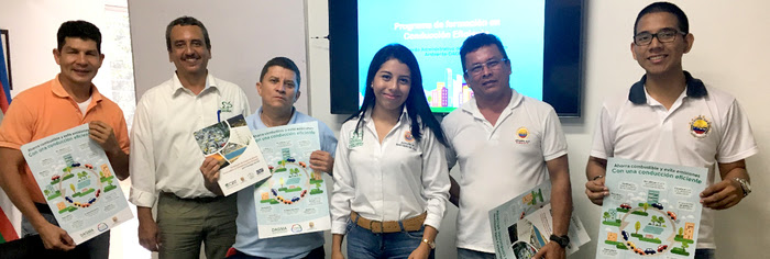 Continúa Programa de Conducción Eficiente para Santiago de Cali