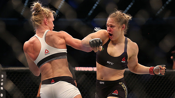 Holly Holm, Ronda Rousey