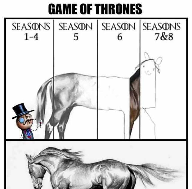 Game Of Thrones Meme Caballo - Emaan Eastwood