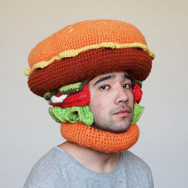 หมวกโครเชต์ เบอร์เกอร์