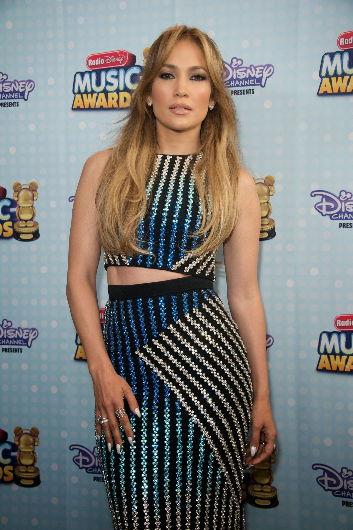 JENNIFER LOPEZ at 2015 Radio Disney Music Awards in Los Angeles