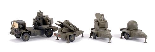Rapier Missiles configuration