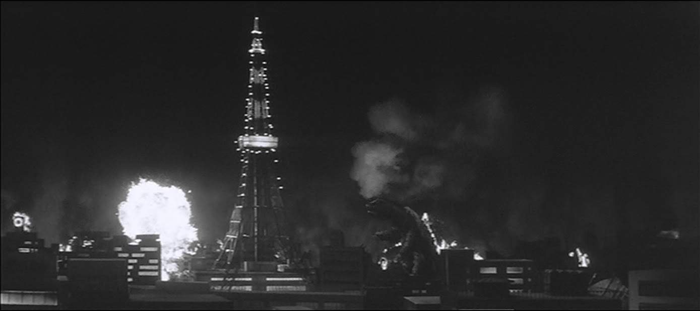 When in tokyo, destroy the lovely Tokyo Tower.