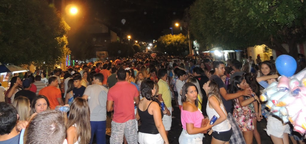O Treme Treme reúne milhares de foliões no carnaval de Caicó - Fotos: Paulo Júnior