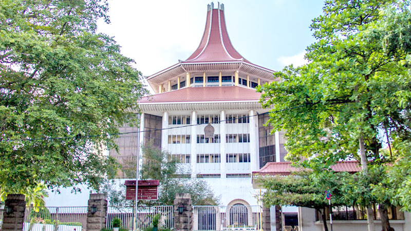 The Supreme Court Complex in Hulftsdorp, Colombo 12.