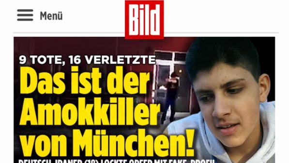 Strage di Monaco, l'attentatore è il 18enne tedesco di origini iraniane Alì Sonboly