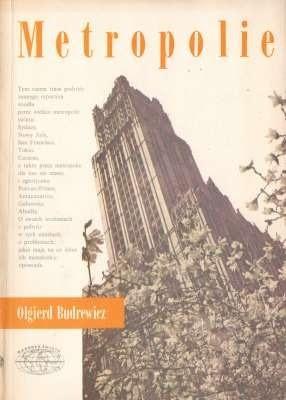 Okładka książki Metropolie