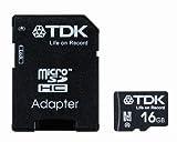 TDK microSDHCカード 16GB Class10 (5年保証) [フラストレーションフリーパッケージ (FFP)] T-MCSDHC16GB10-FFP