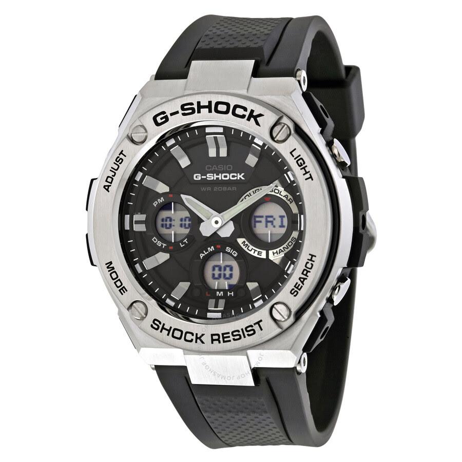 7816e88b1bda Casio GShock Men39 s AnalogDigital Watch GSTS1101A GShock Casio Watches  Jomashop