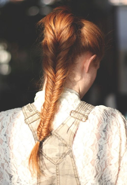 Le Fashion Blog -- 30 Inspiring Fishtail Braids -- Red Ponytail Braid Hair Style -- Via Free People -- photo 13-Le-Fashion-Blog-30-Inspiring-Fishtail-Braids-Red-Ponytail-Braid-Hair-Style-Via-Free-People-.jpg