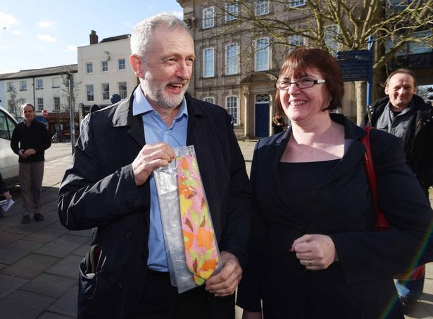 Jeremy Corbyn and tie
