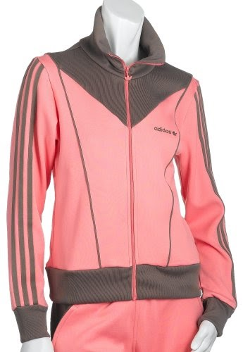Clothing Adidas Women S Ob Track Jacket Pink Titan Grey