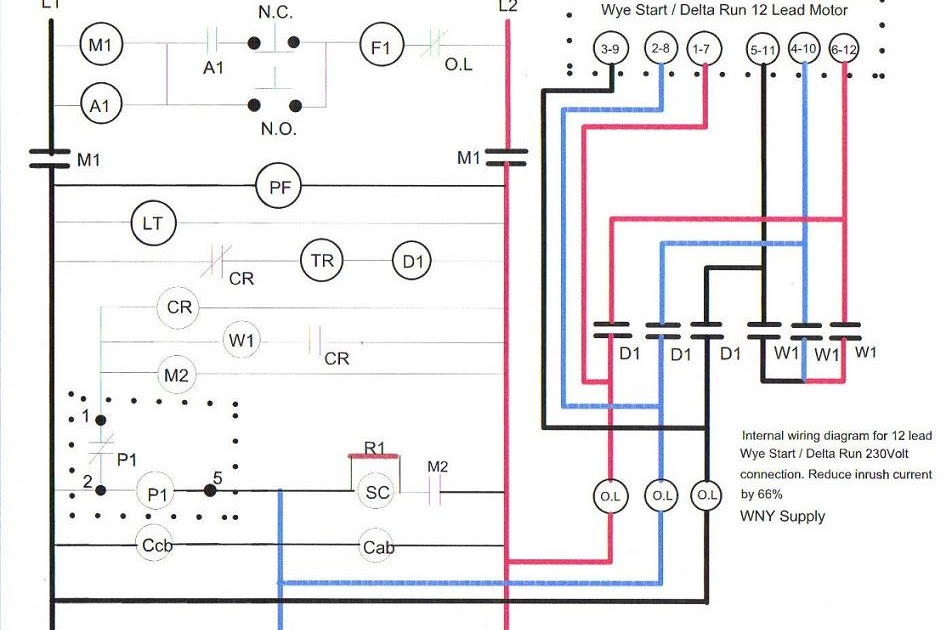 12 Lead Delta Wiring Diagram
