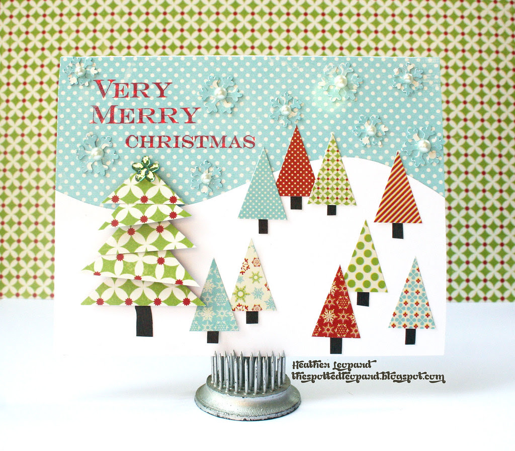 Very Merry Christmas Heather Leopard