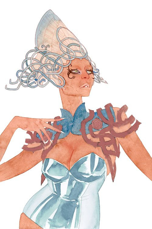 Kevin Wada. Fashion Mutante