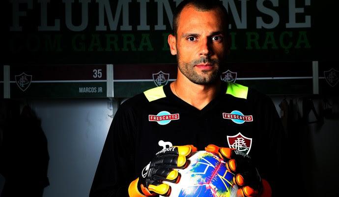 diego cavalieri, fluminense, novo uniforme (Foto: Nelson Perez/Fluminense FC)
