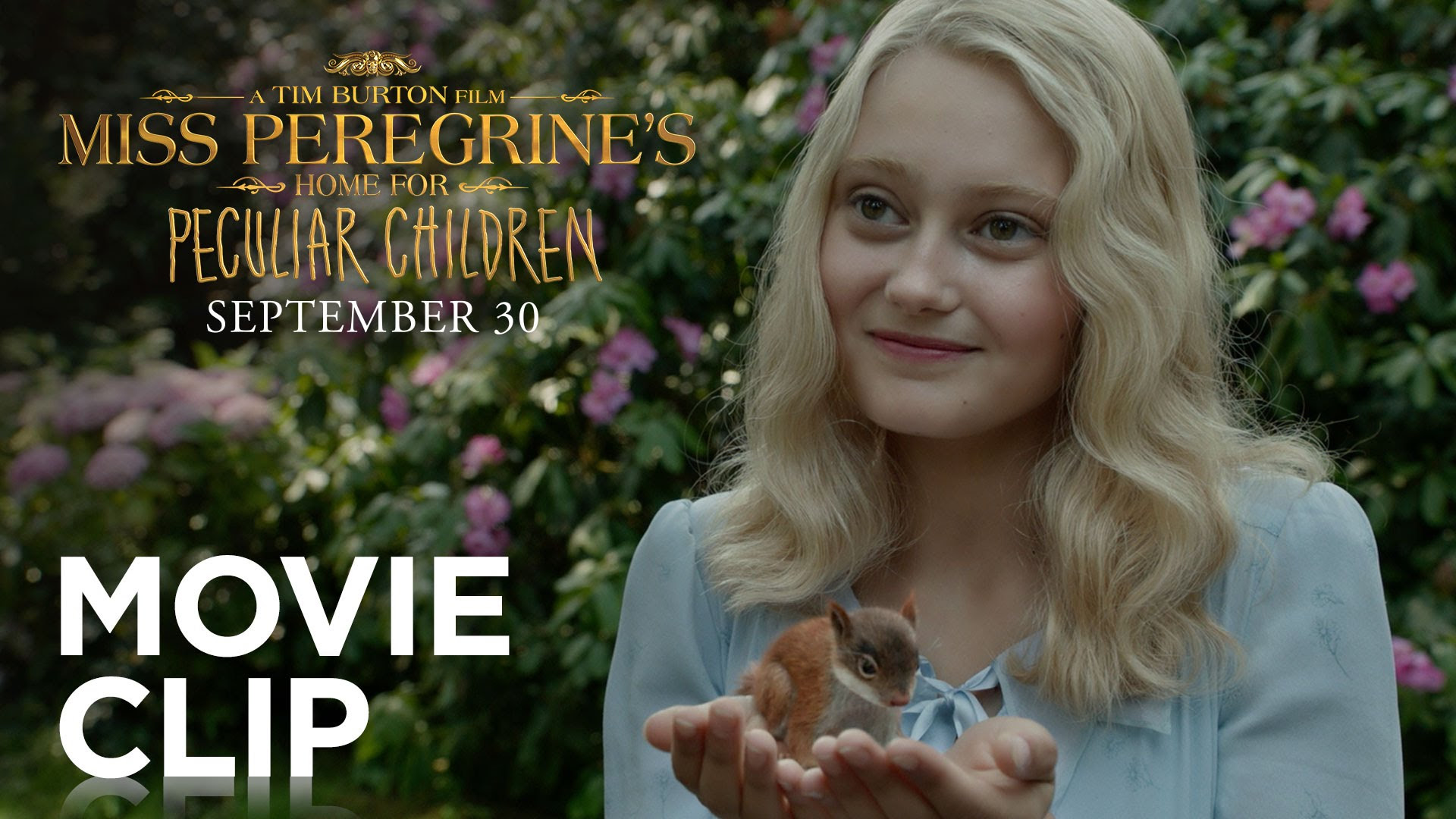 Miss Peregrine S Home For Peculiar Children Hold Tight Clip