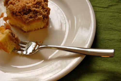 230/365: Cake for breakfast