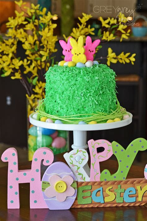 This Easter Egg Cake Will Make You Green with Envy   Evite