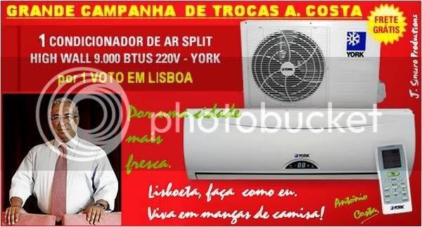 Autárquicas António Costa