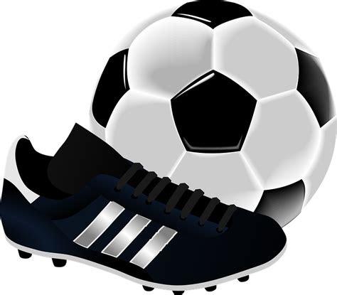 futebol chuteira bola grafico vetorial gratis  pixabay